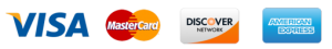 Visa Mastercard Discover and American Express accepted at Beatitude
