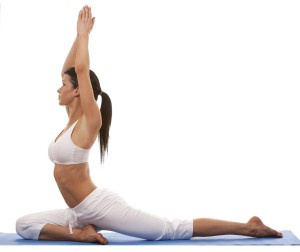 woman yoga pose