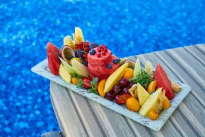 Fresh fruits can be frozen into smoothies to keep your skin hydrated and nourished. Blog by Beatitude Aesthetic Medicine in San Diego.